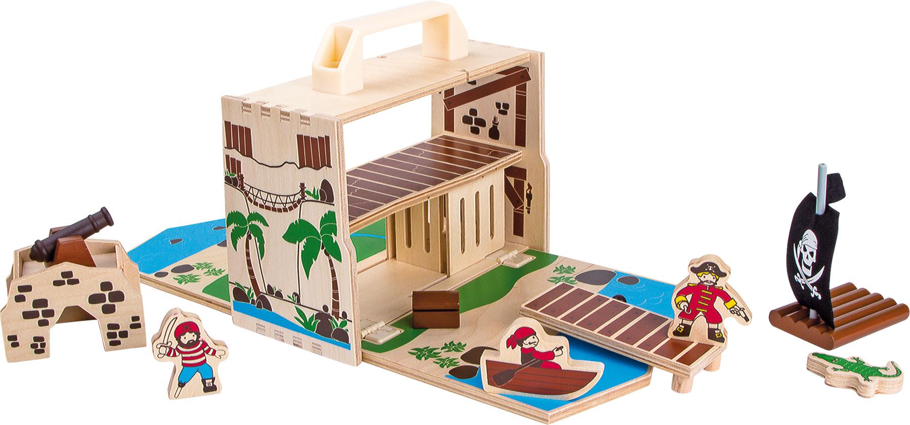 Small foot - Box set pirate iland