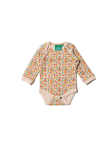 Little Green Radicals - Autumn Blossom Two Pack Baby Body Set