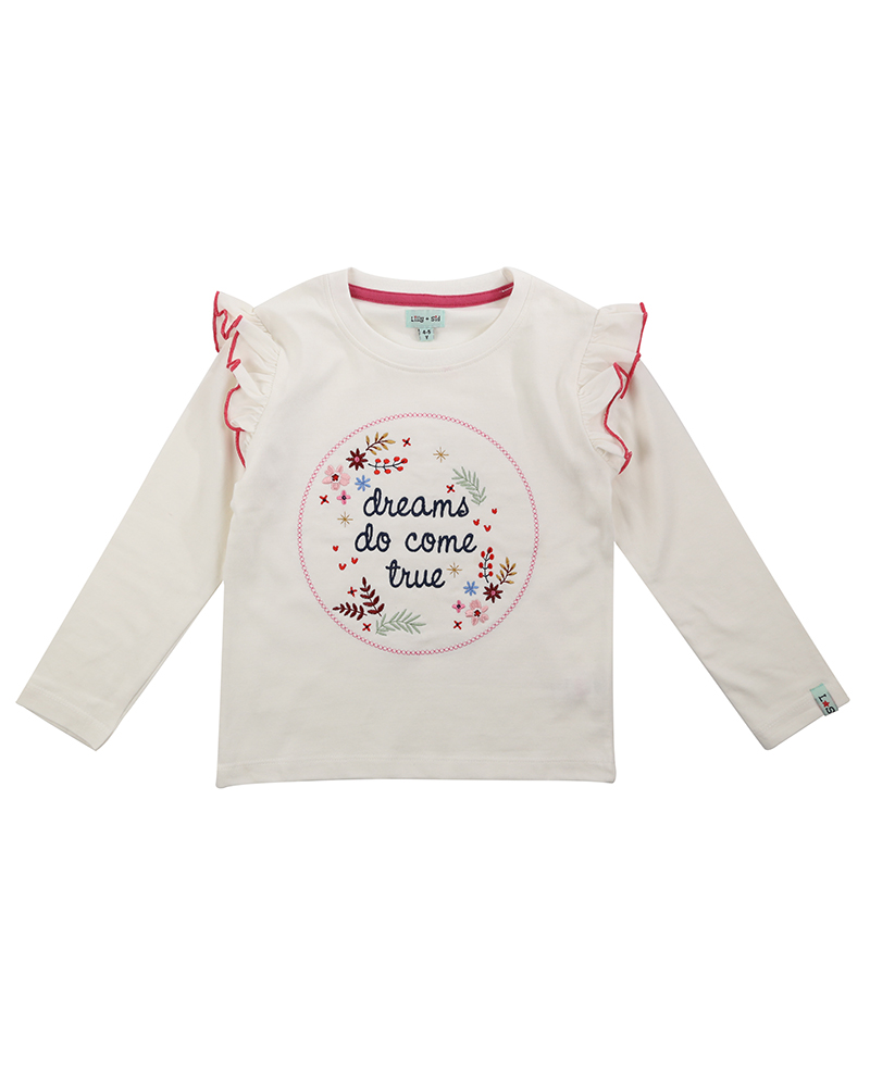 NEW - Lilly + Sid - Dreams Embroidered Top
