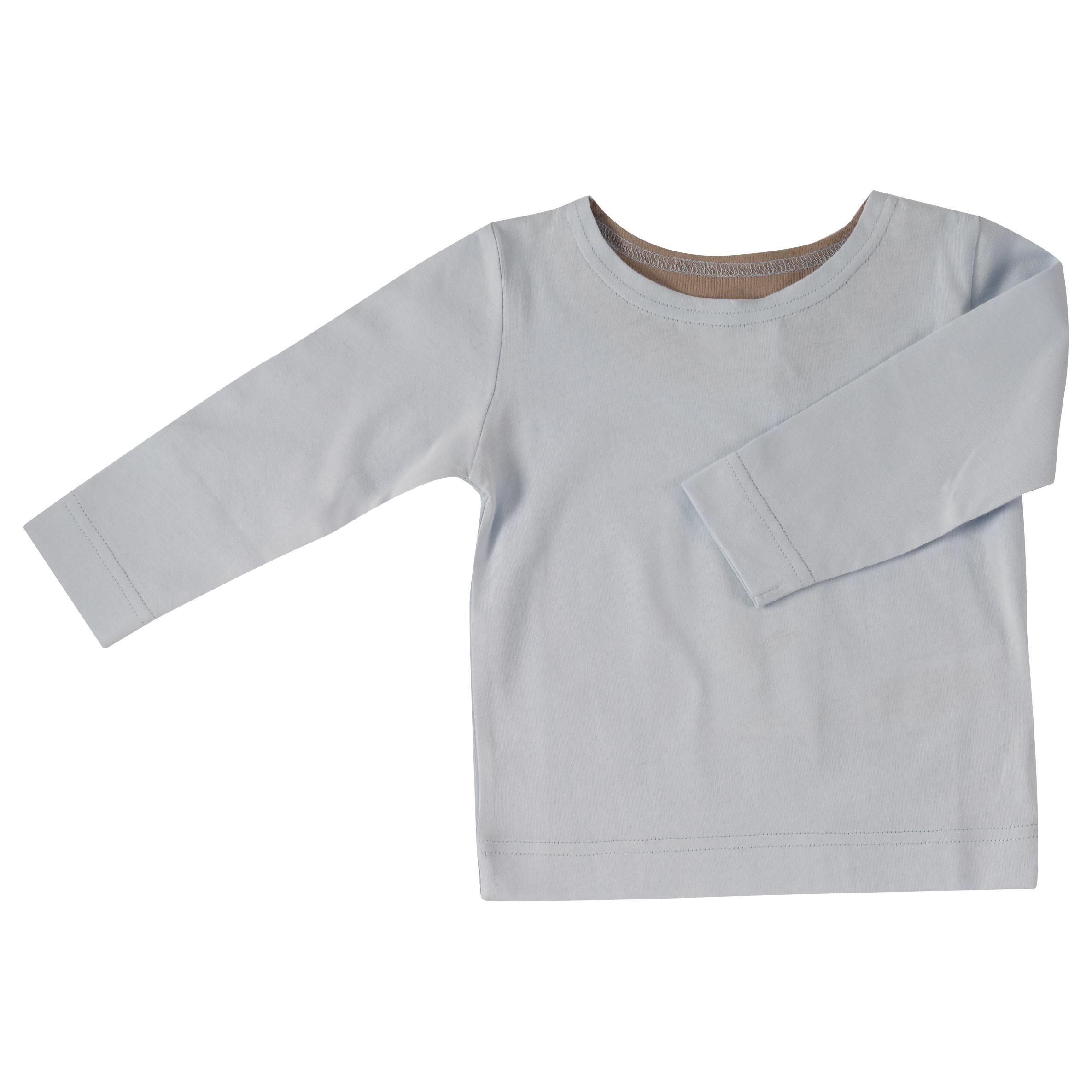Pigeon - long sleeve t-shirt - Baby blue