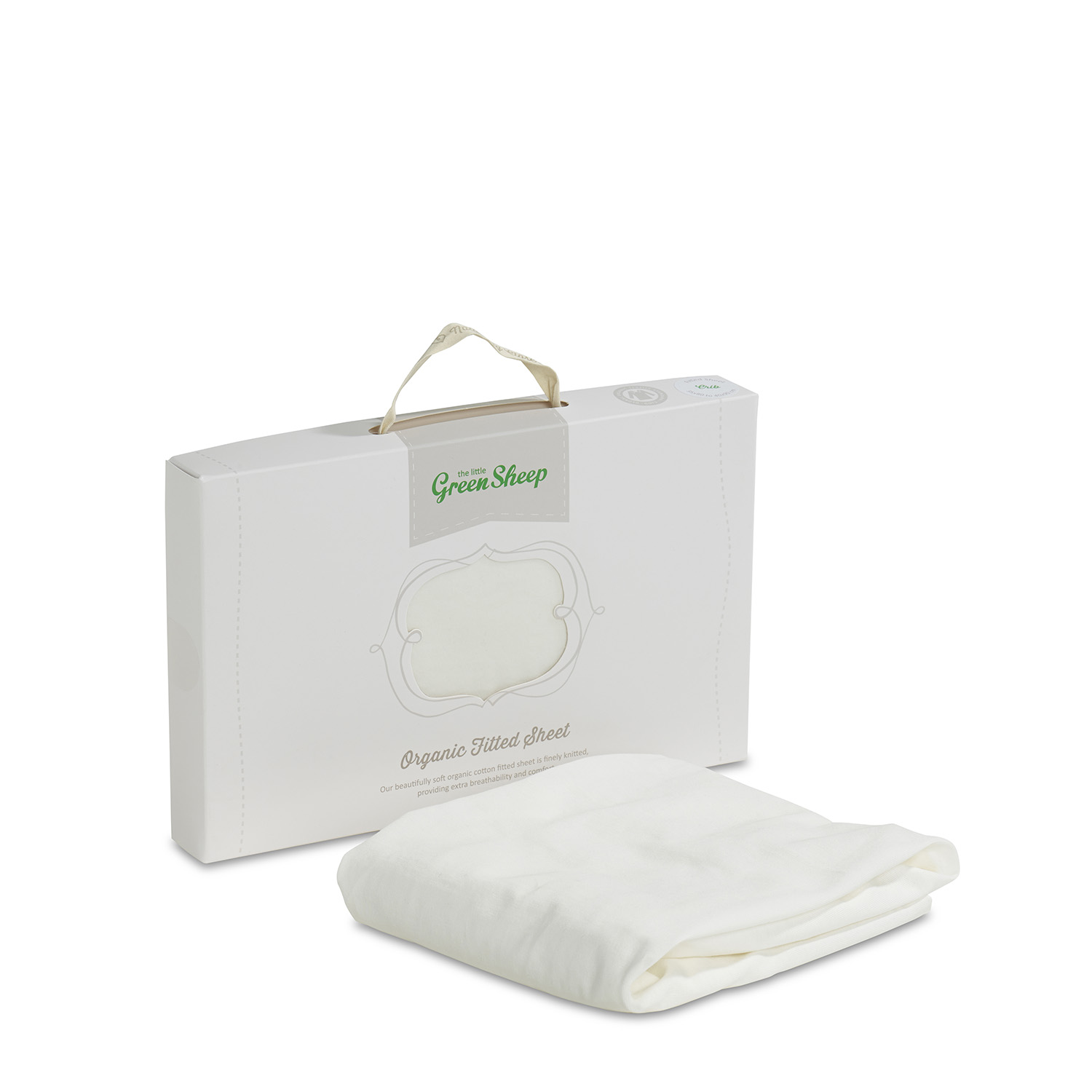 The Little Green Sheep Organic Cotton Stokke Mini Crib Fitted Sheet