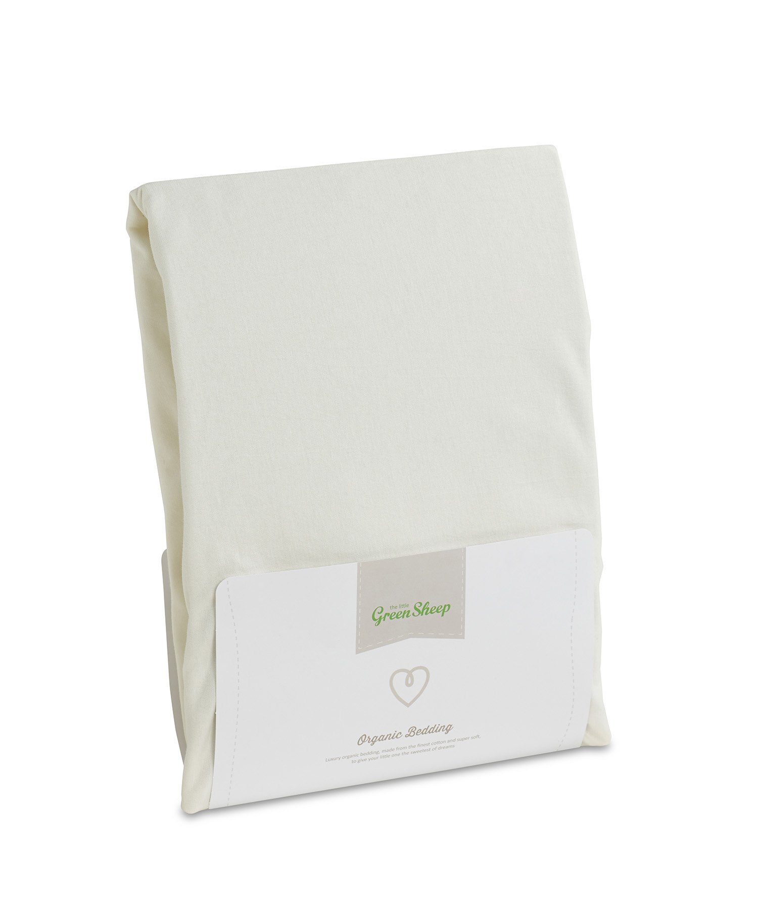The Little Green Sheep Organic Cotton Junior Single Bed Fitted Sheet