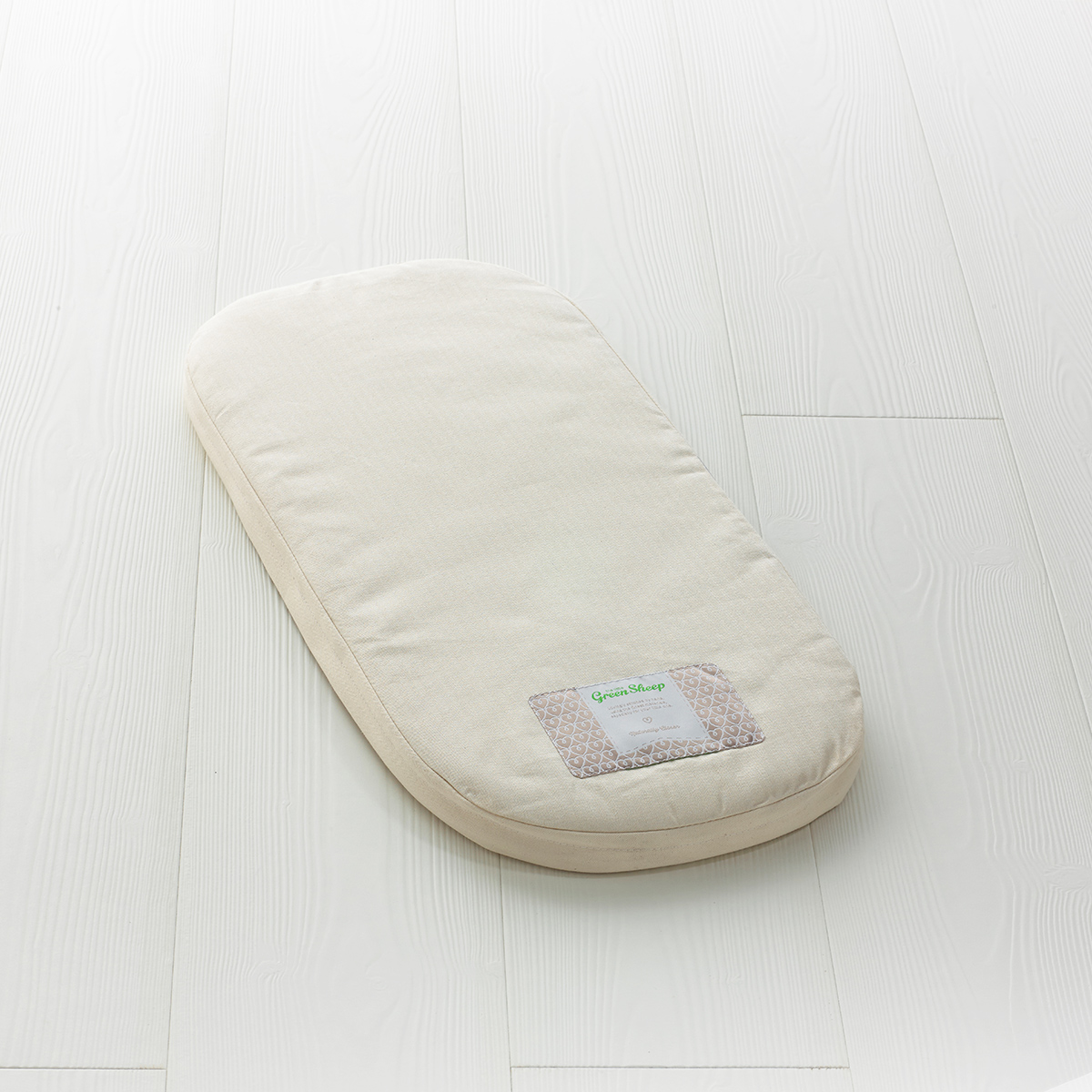 The Little Green Sheep - Natural Carrycot Mattress - To Fit Uppababy Vista