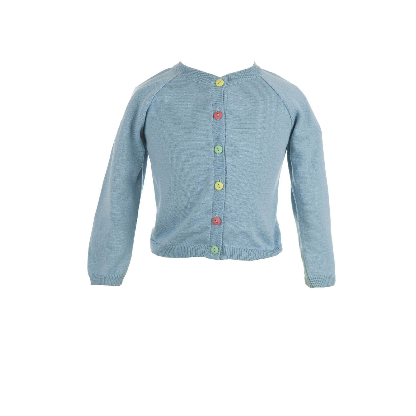 Sale - Classic cardigan sky blue