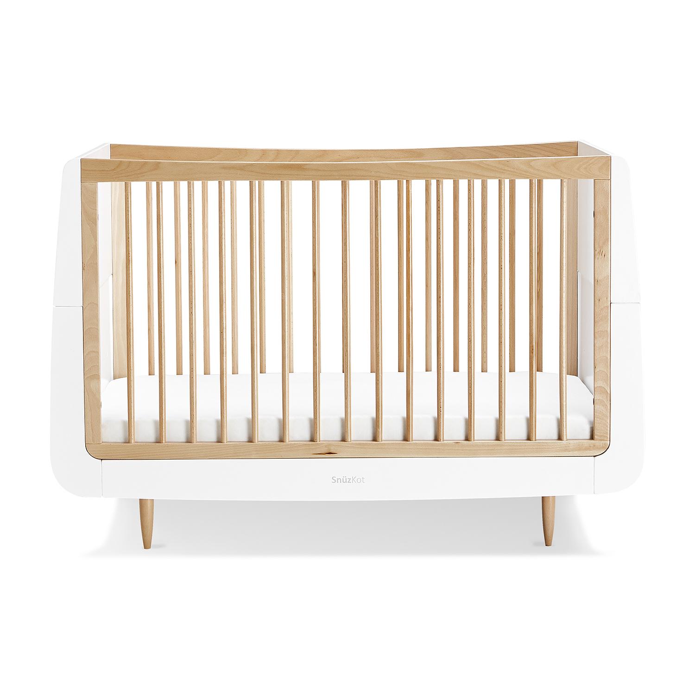 SnuzKot Skandi Cot Bed – Natural
