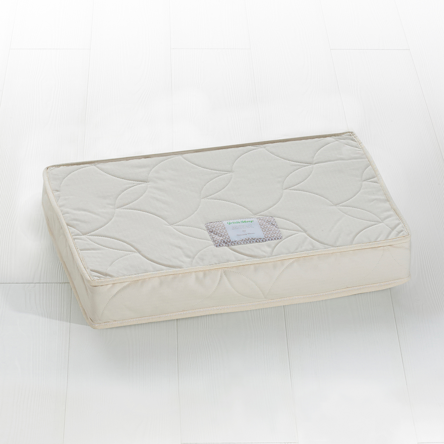 The Little Green Sheep Natural SnuzKot Extension Mattress Piece