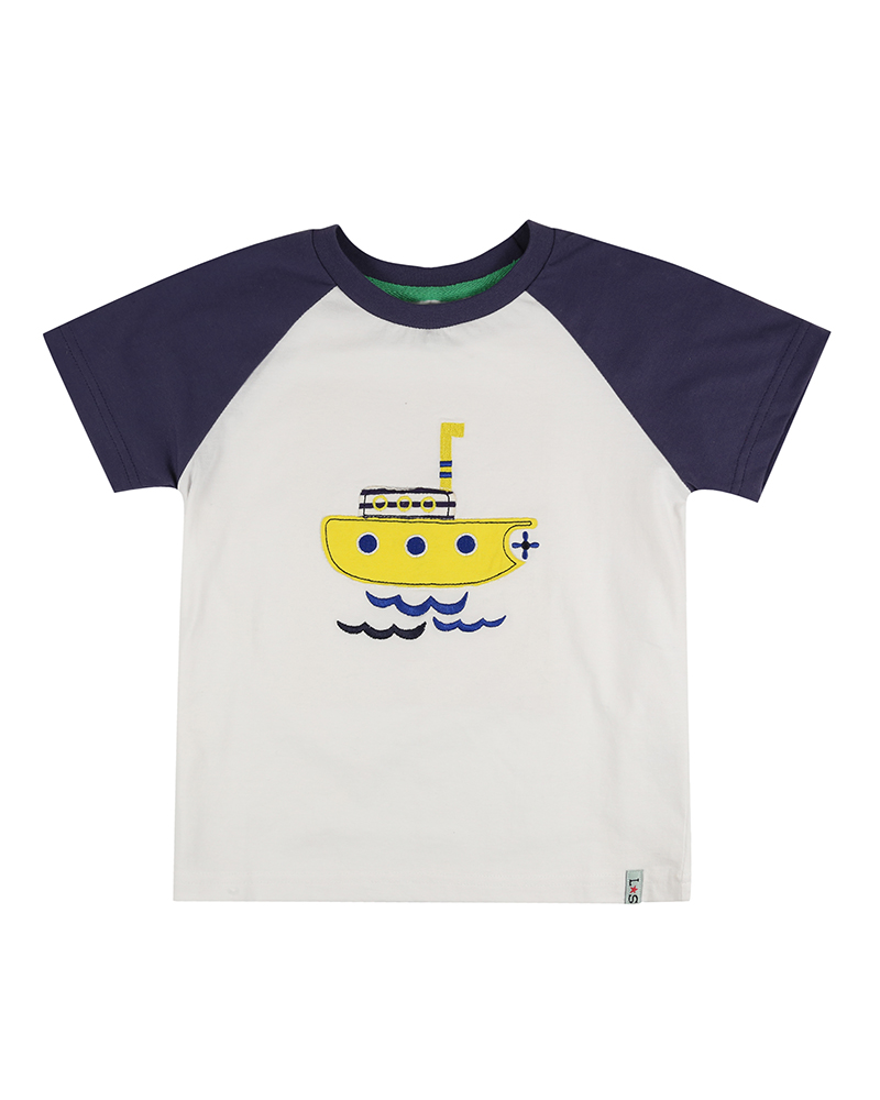 Lilly + Sid - Raglan Ship T