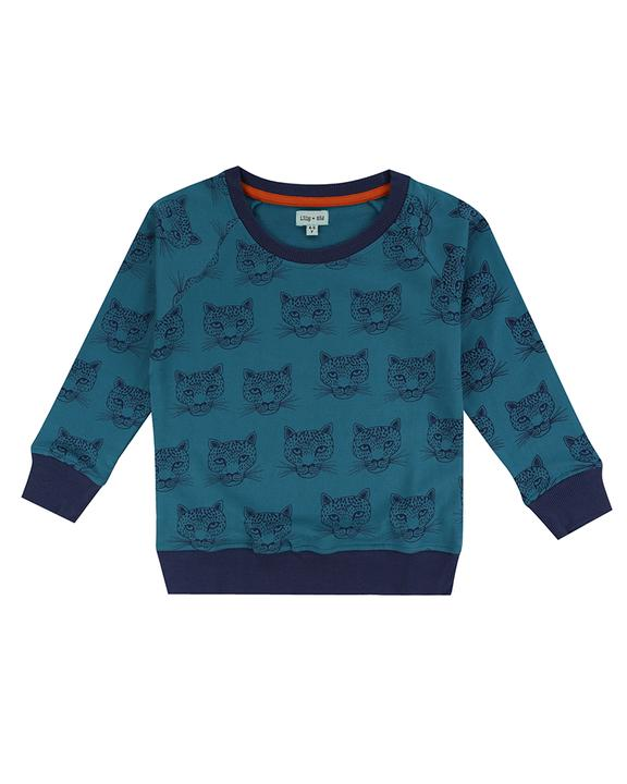 Lilly + Sid - Cheetah Sweatshirt