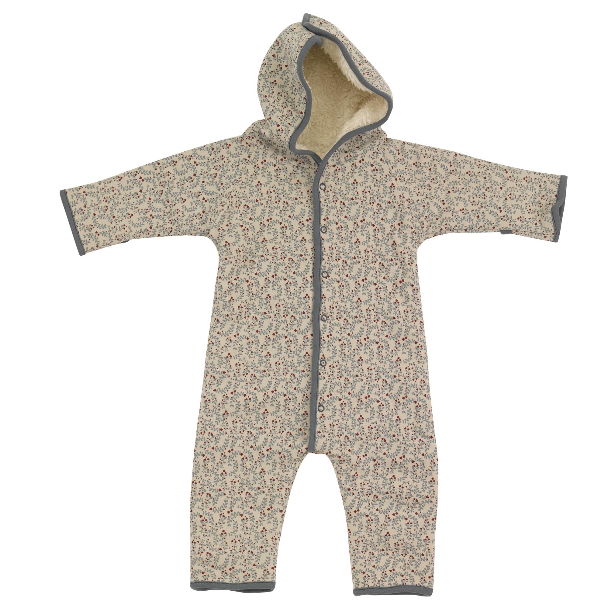 Pigeon - Snuggle suit, leaf - pumice,