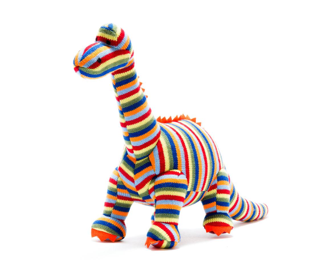 Best Years-Knitted stripe Diplodocus medium