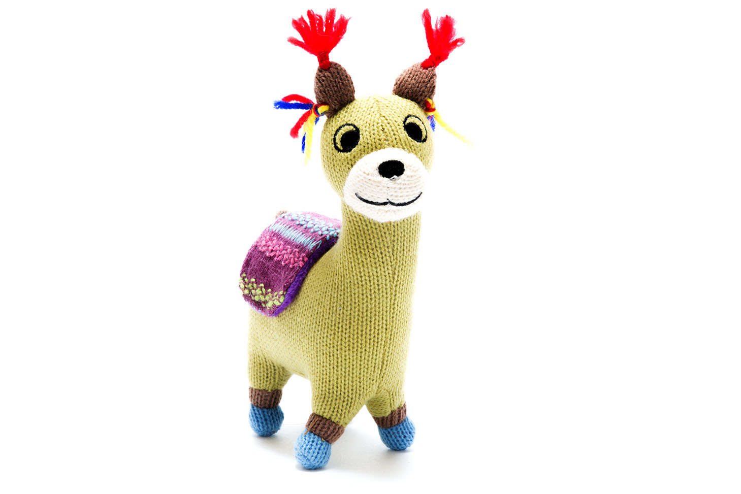 Best Years- knitted llama small
