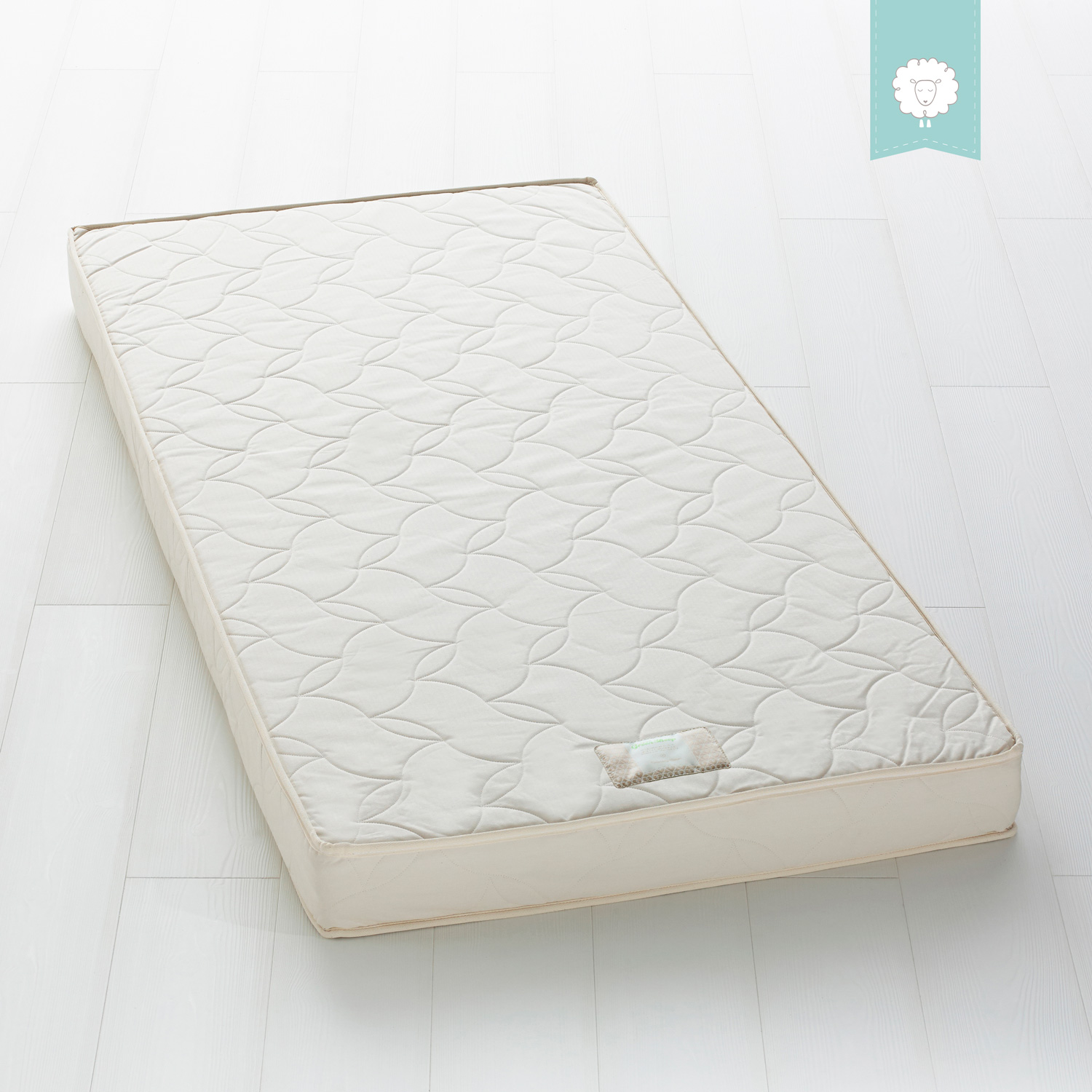 The Little Green Sheep Natural 90x200 Junior Mattress