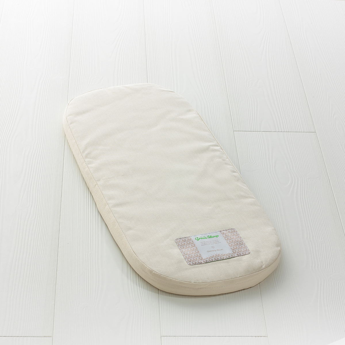 The Little Green Sheep - Natural Carrycot Mattress - To Fit iCandy Peach & Terrain