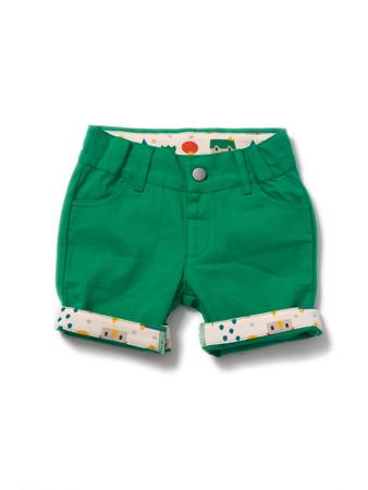 LGR - Fern green shorts 9-12 months