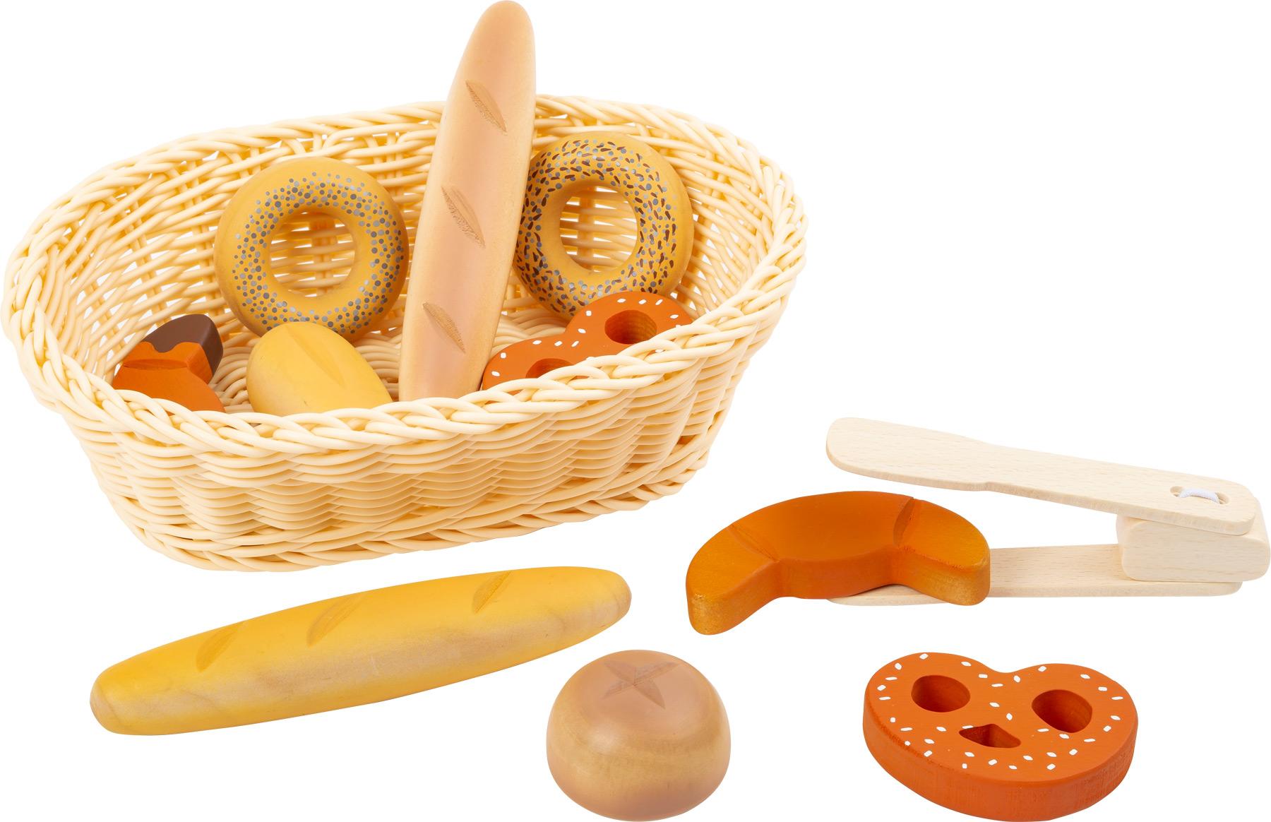 Small foot - breadbasket set