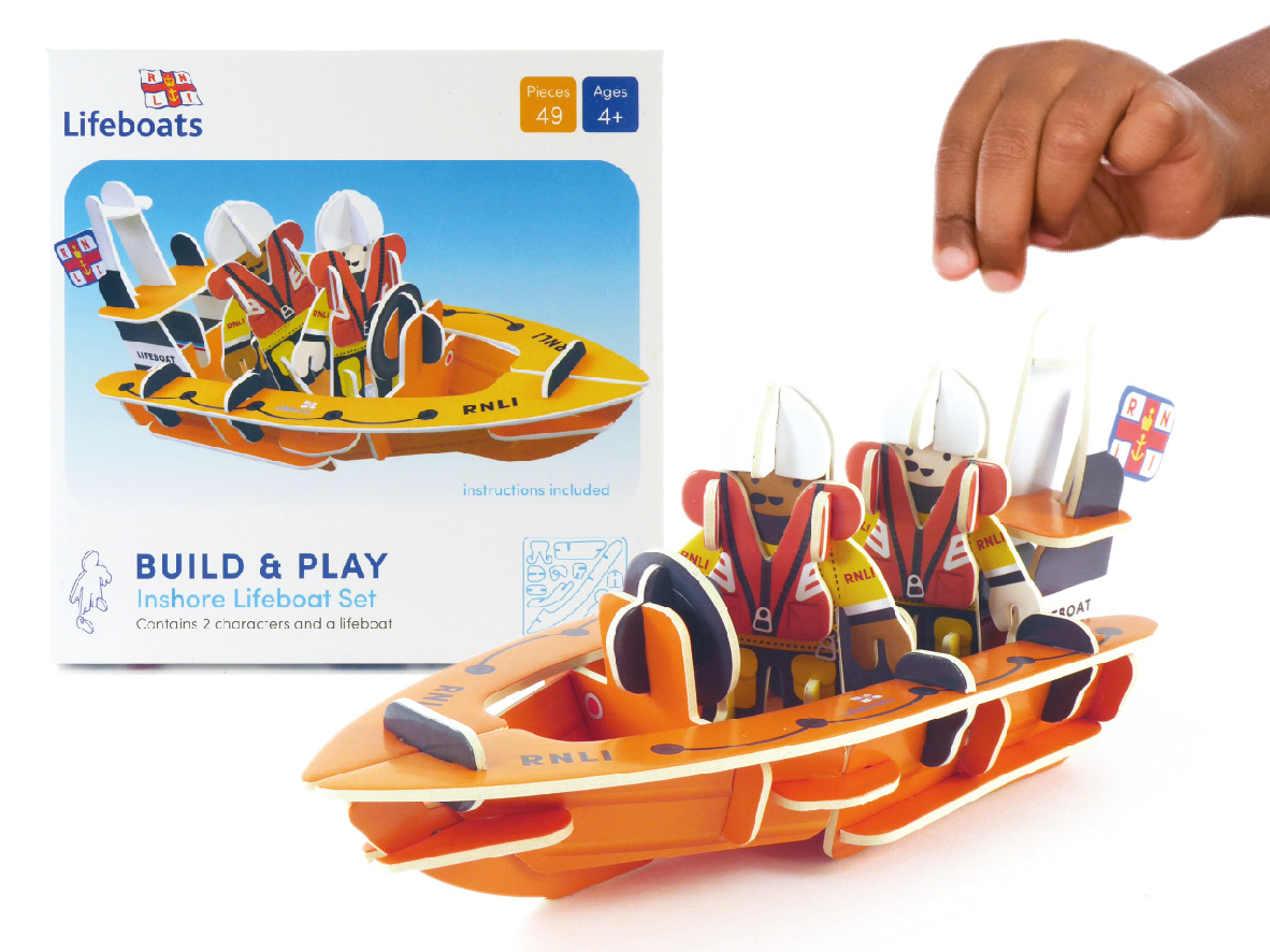 Play Press - RNLI on the shore lifeboat playset