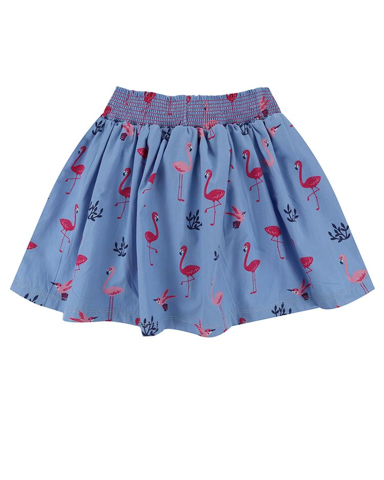 Lilly + Sid - Flamingo Print Skirt