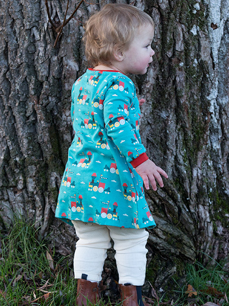 Little Green Radicals - Sky Train Playaway Dress