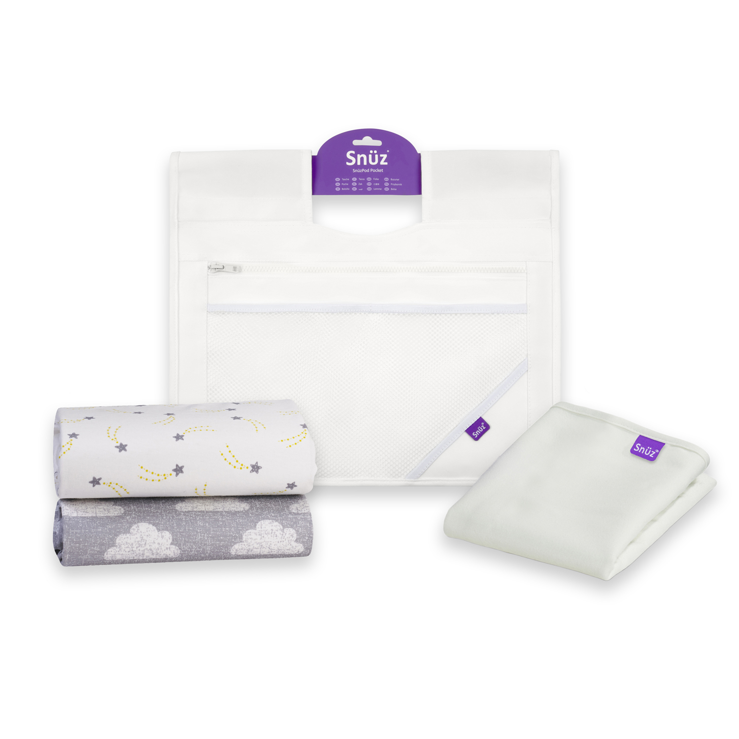 Snuz - Essential Bundle Pack for SnuzPod - White