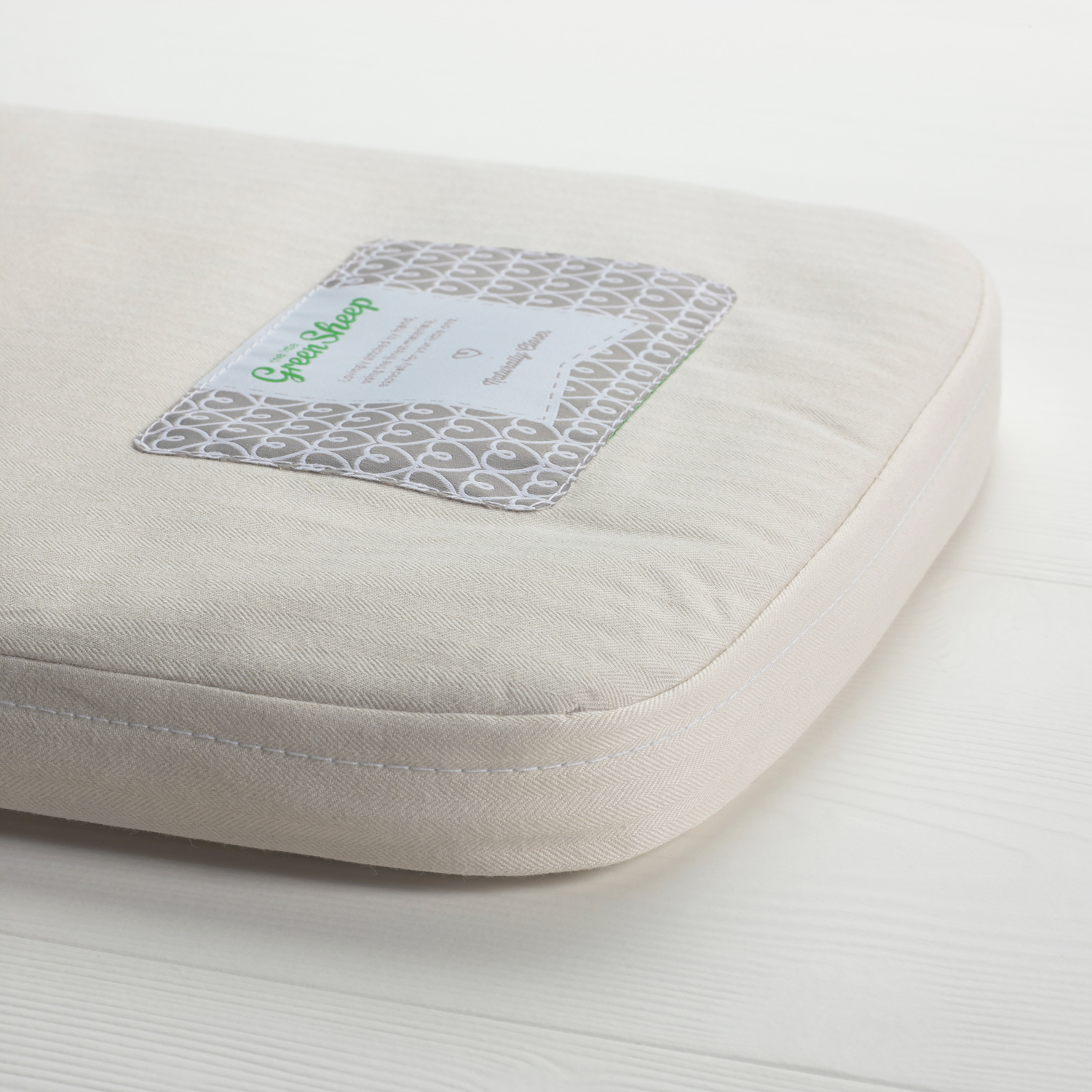 The Little Green Sheep -  Natural Carrycot Mattress - To Fit Bugaboo Donkey Only