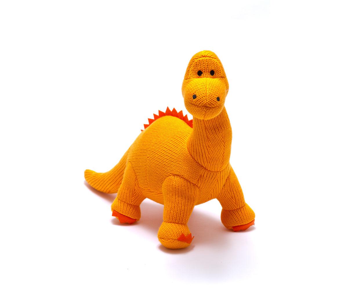 Best Years-Knitted large-diplodocus orange