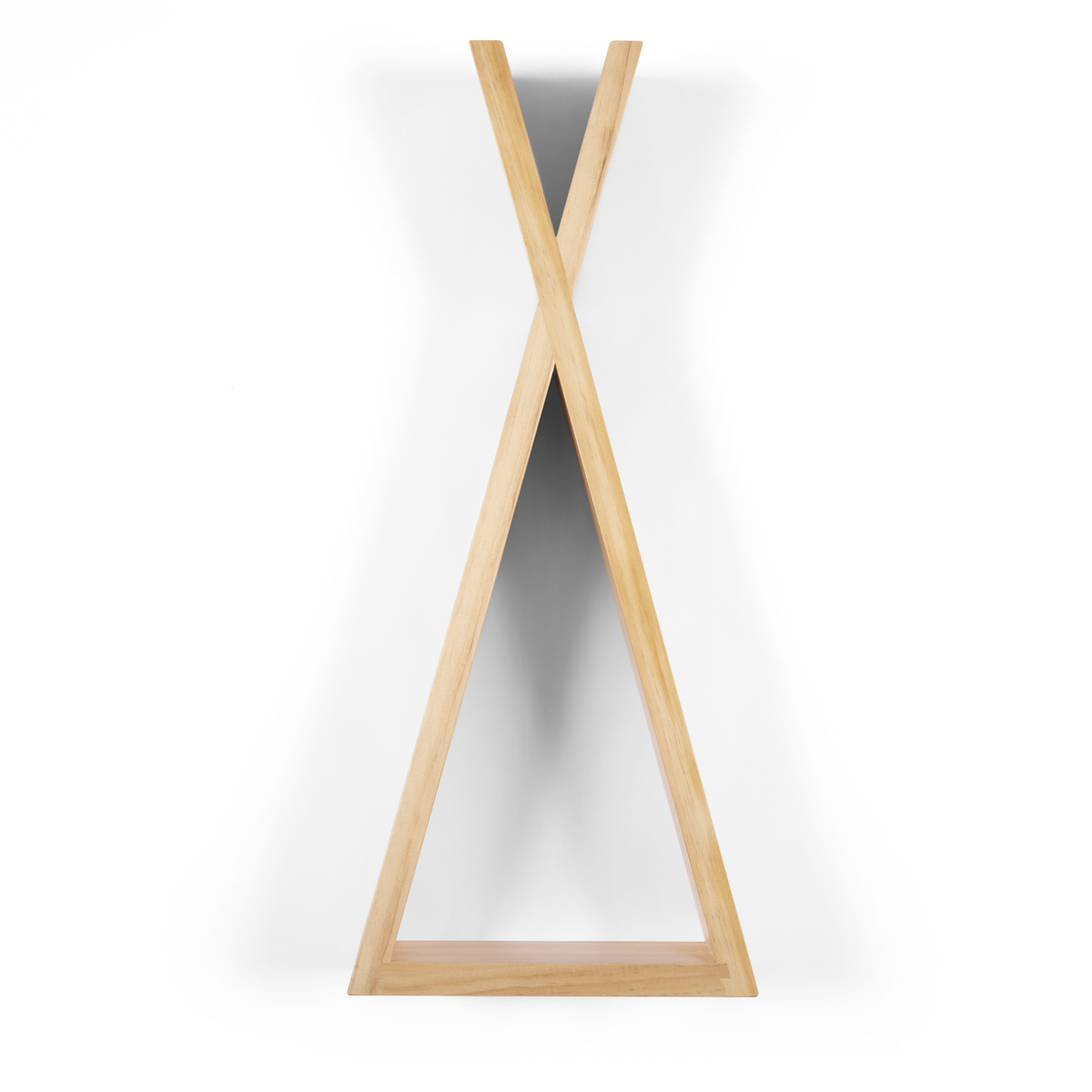 Snuz Teepee Shaped Nursery Shelf – Natural - Medium