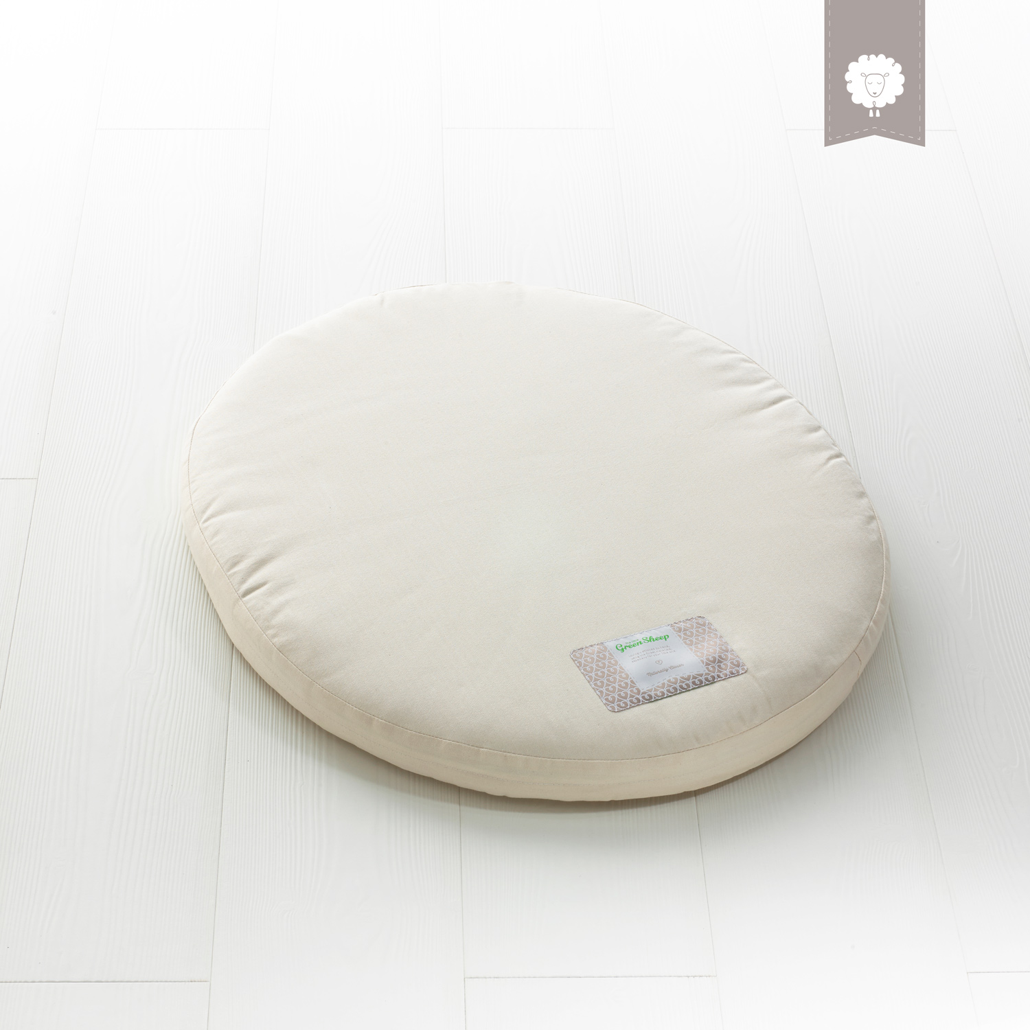 The Little Green Sheep Natural Crib Mattress - To Fit Stokke Mini CribOnly
