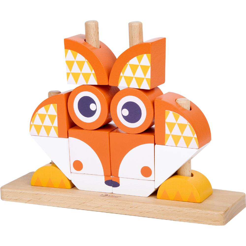 classic world - fox blocks set