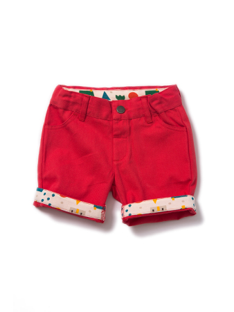 Sale - LGR - Red shorts - 2-3 years