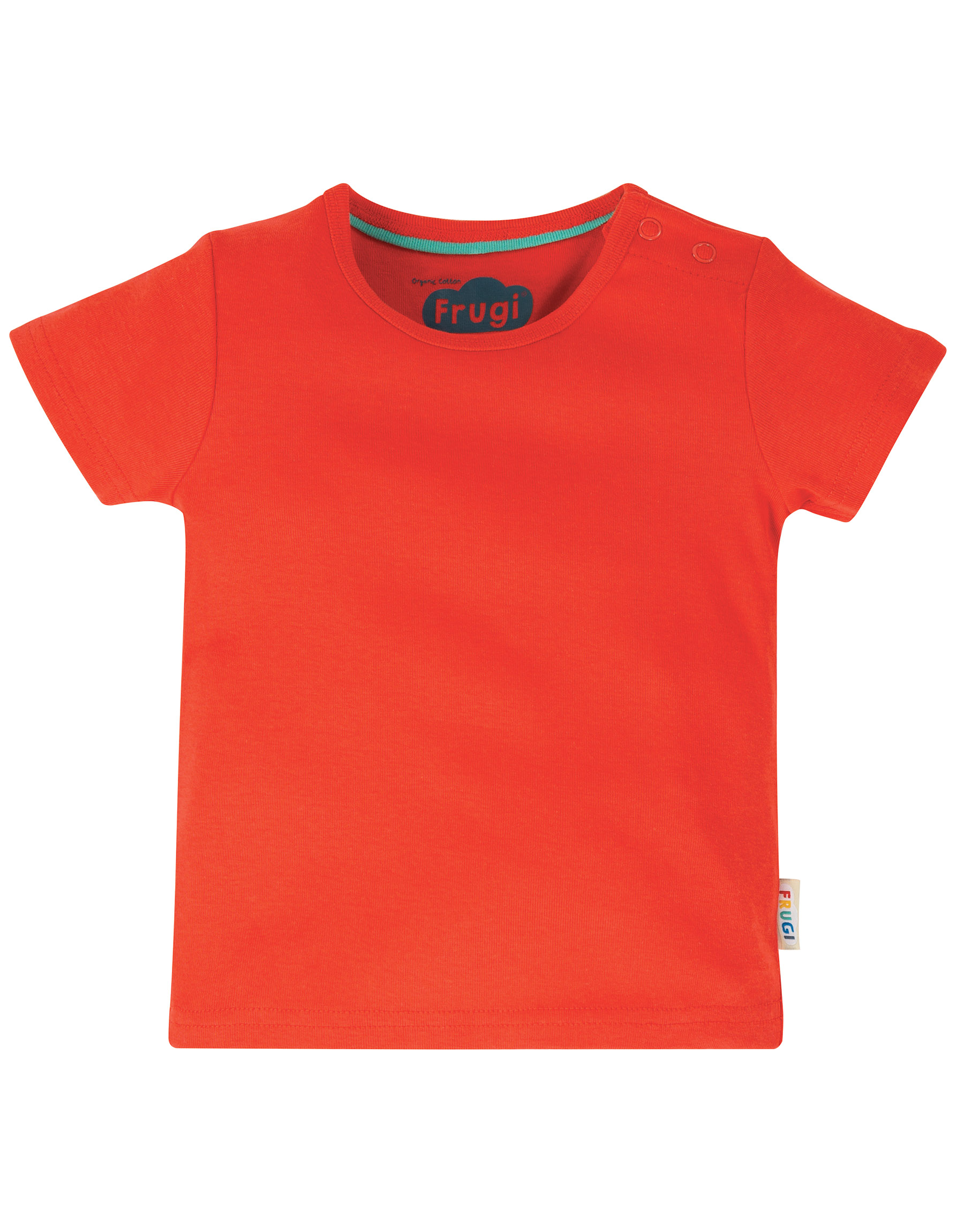 Frugi - favourite t-shirt - Koi Red