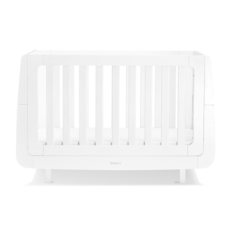 SnuzKot Mode Cot Bed – White
