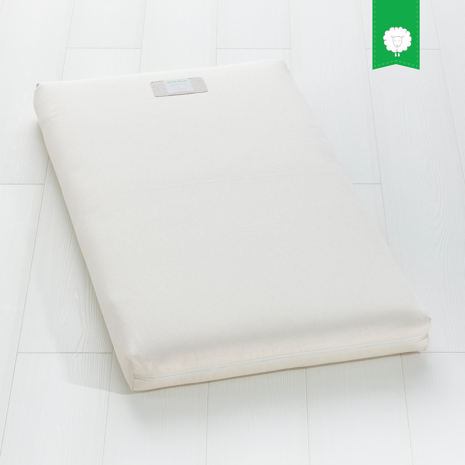 The Little Green Sheep Organic 60x120 Cot Mattress