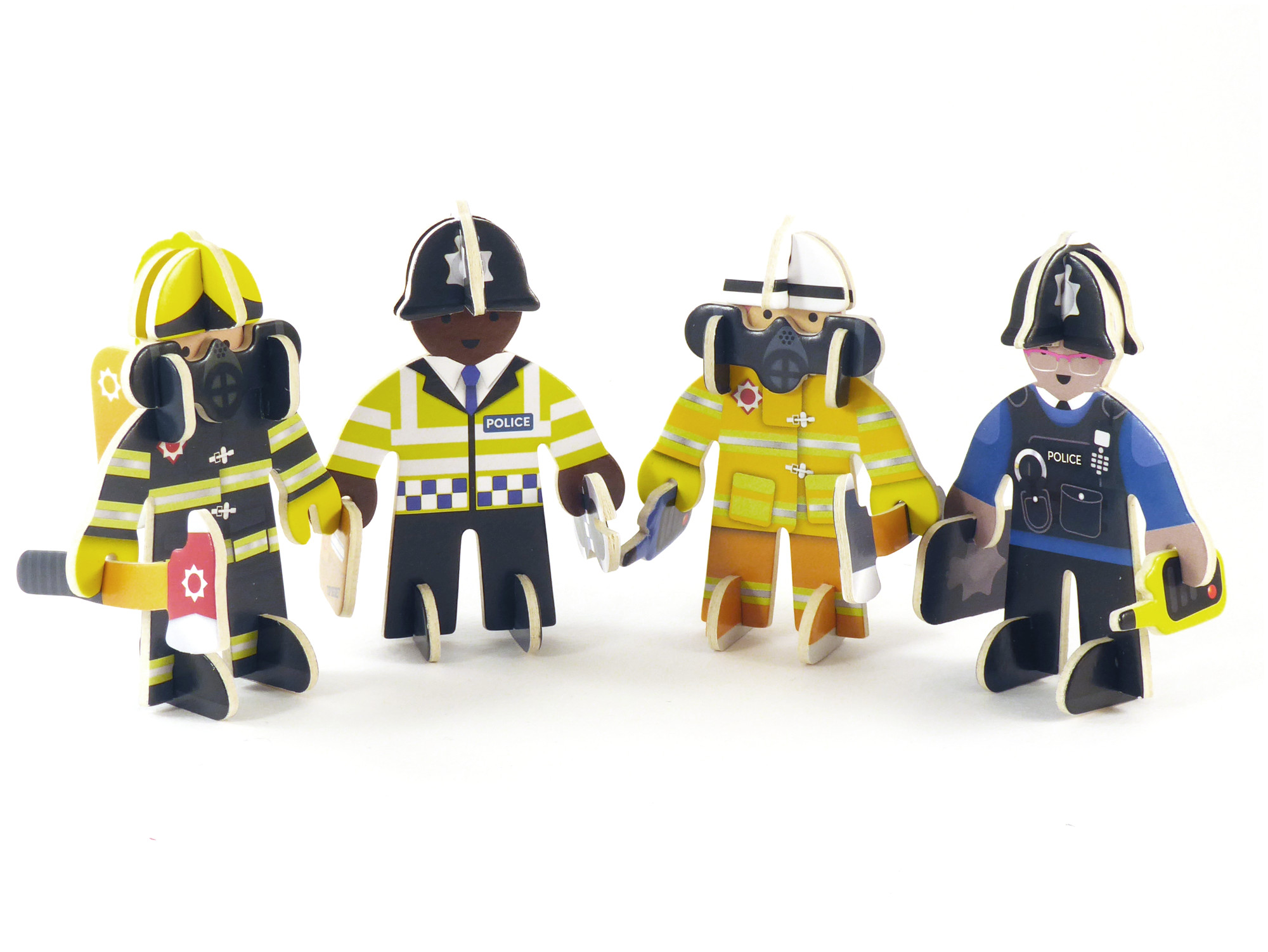 Play Press - Rescue Team Character Set