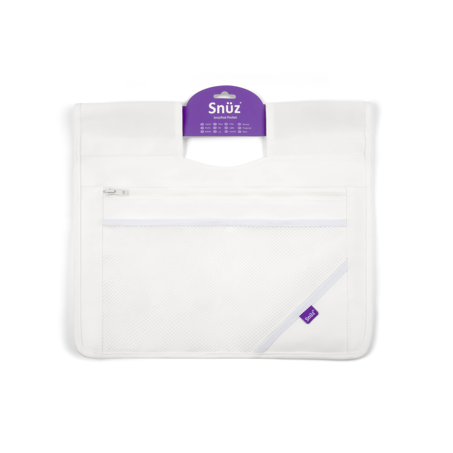 SnuzPod³ Storage Pocket - White
