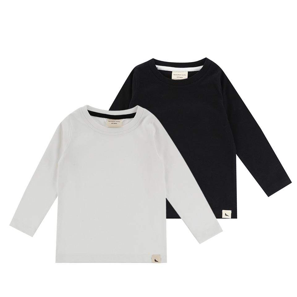 Turtledove London - 2 pack long sleeve t-shirt