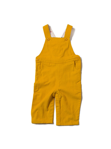Little Green Radicals  - Gold Classic Dungarees