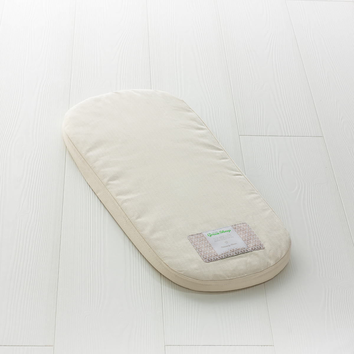 The Little Green Sheep - Natural Carrycot Mattress - To Fit iCandy Strawberry Only