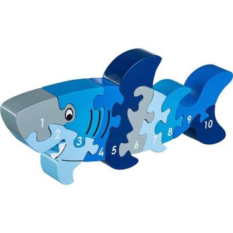 Lanka Kade - 1-10 jigsaw- shark