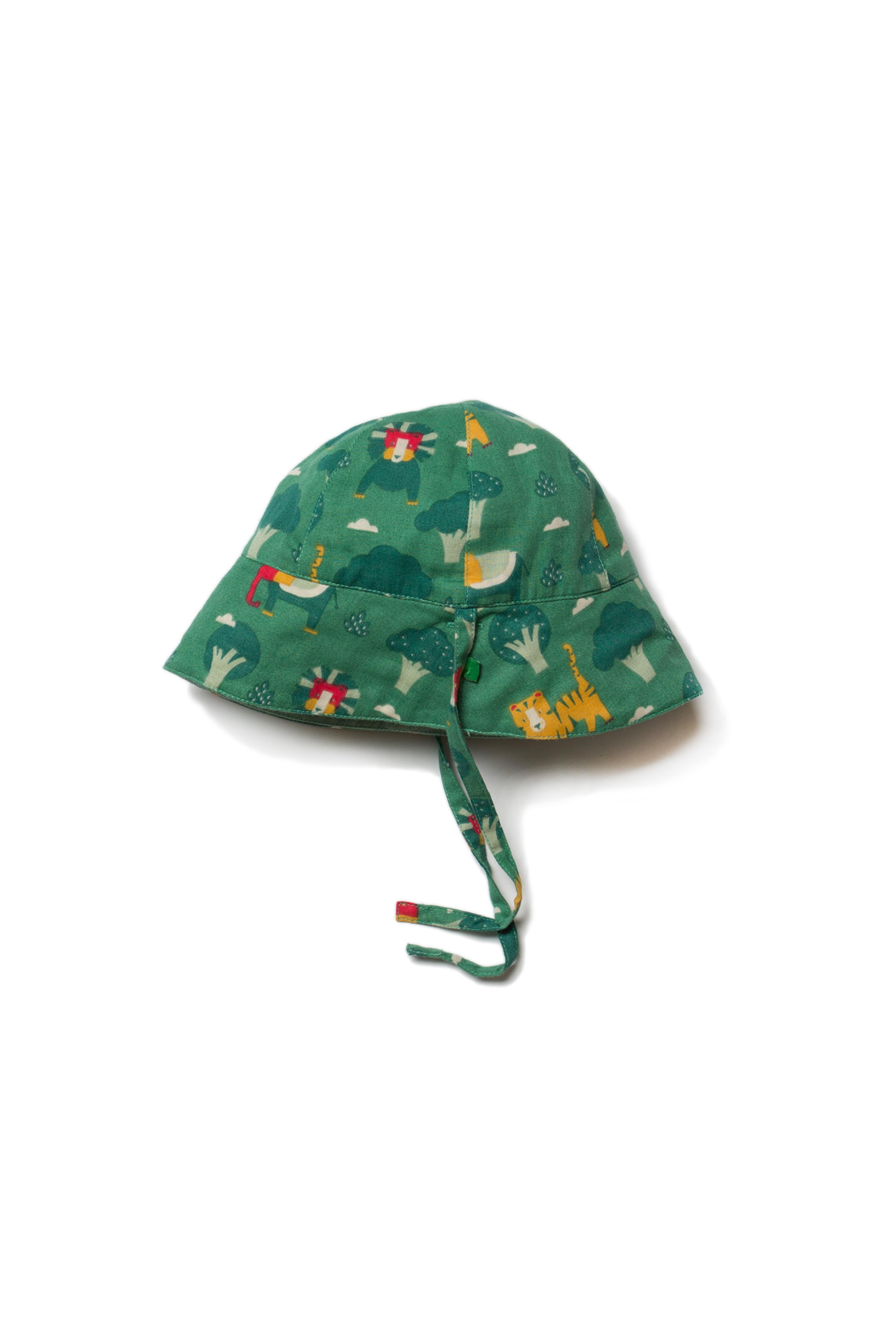 Little Green Radicals - jungle adventures reversible sun hat