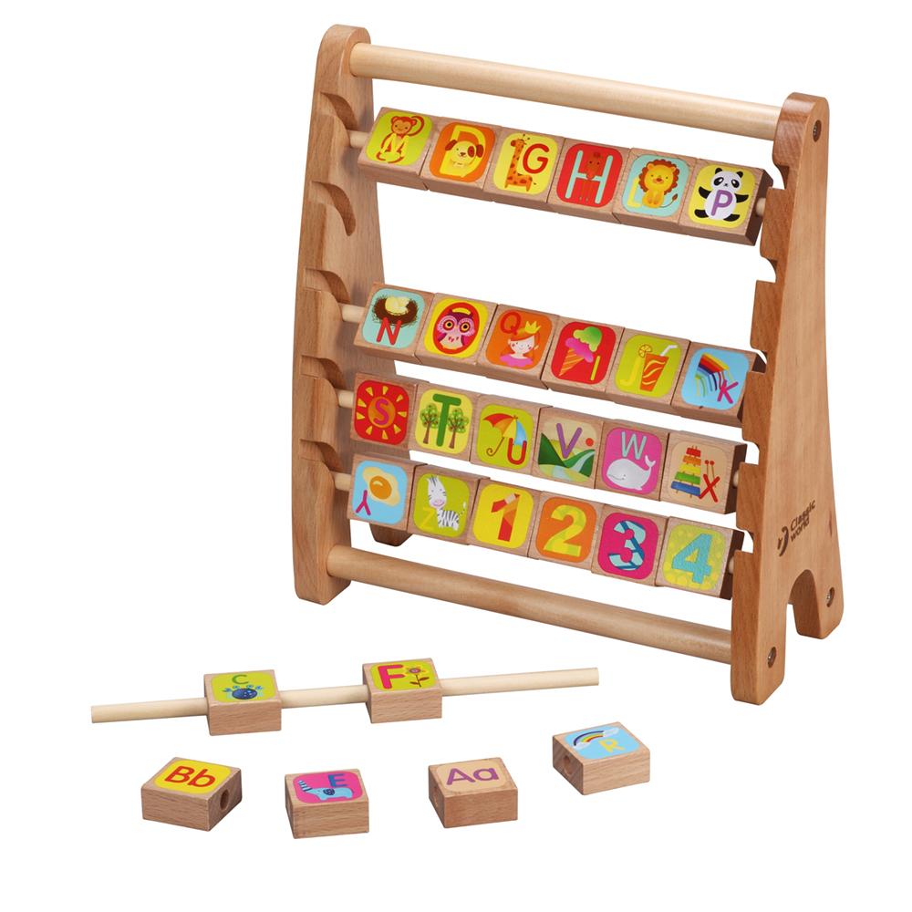 classic world - Alphabet Abacus