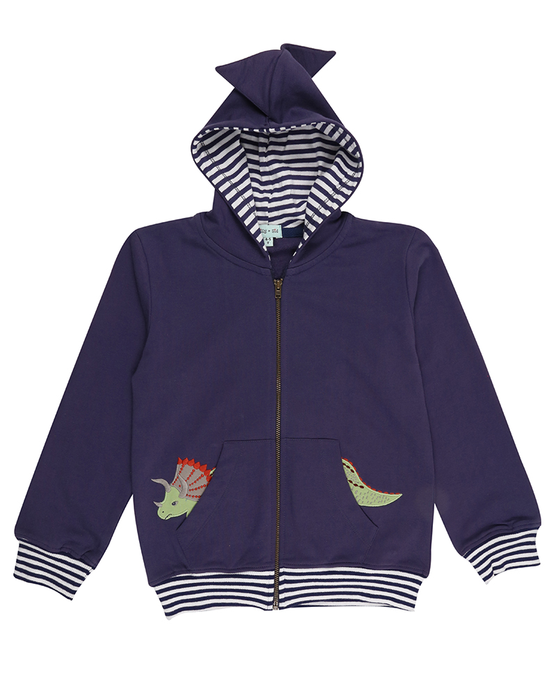New - Lilly + Sid - Dino SpikeHoodie