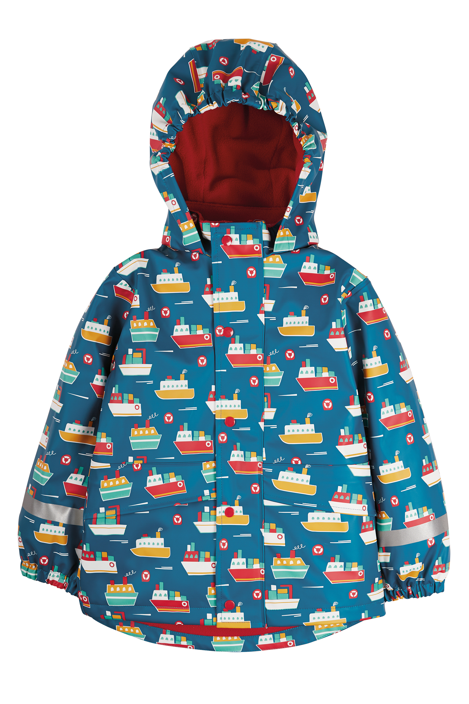 Frugi - Puddle Buster Coat, Sail The Seas