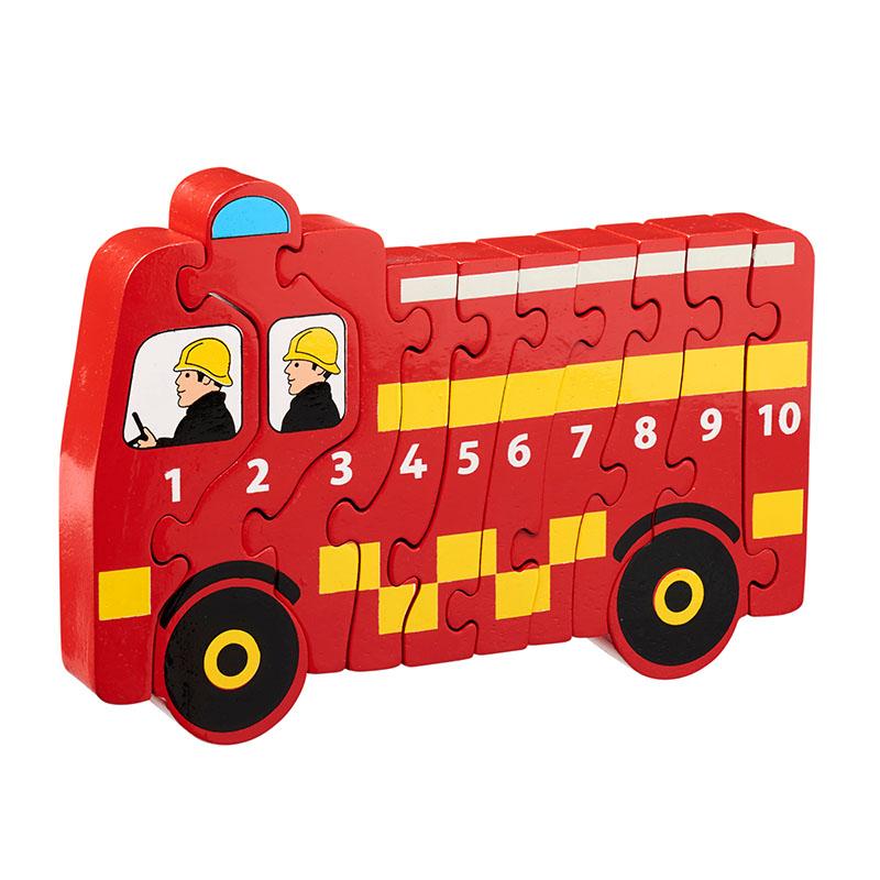 Lanka Kade - 1-10 jigsaw - Fire engine