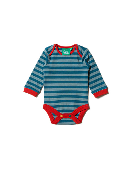 Little Green Radicals - Night Sky Rockets Two Pack Baby Body Set