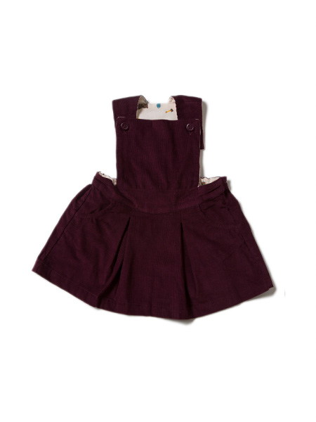 LGR - Plum Pinafore Dress