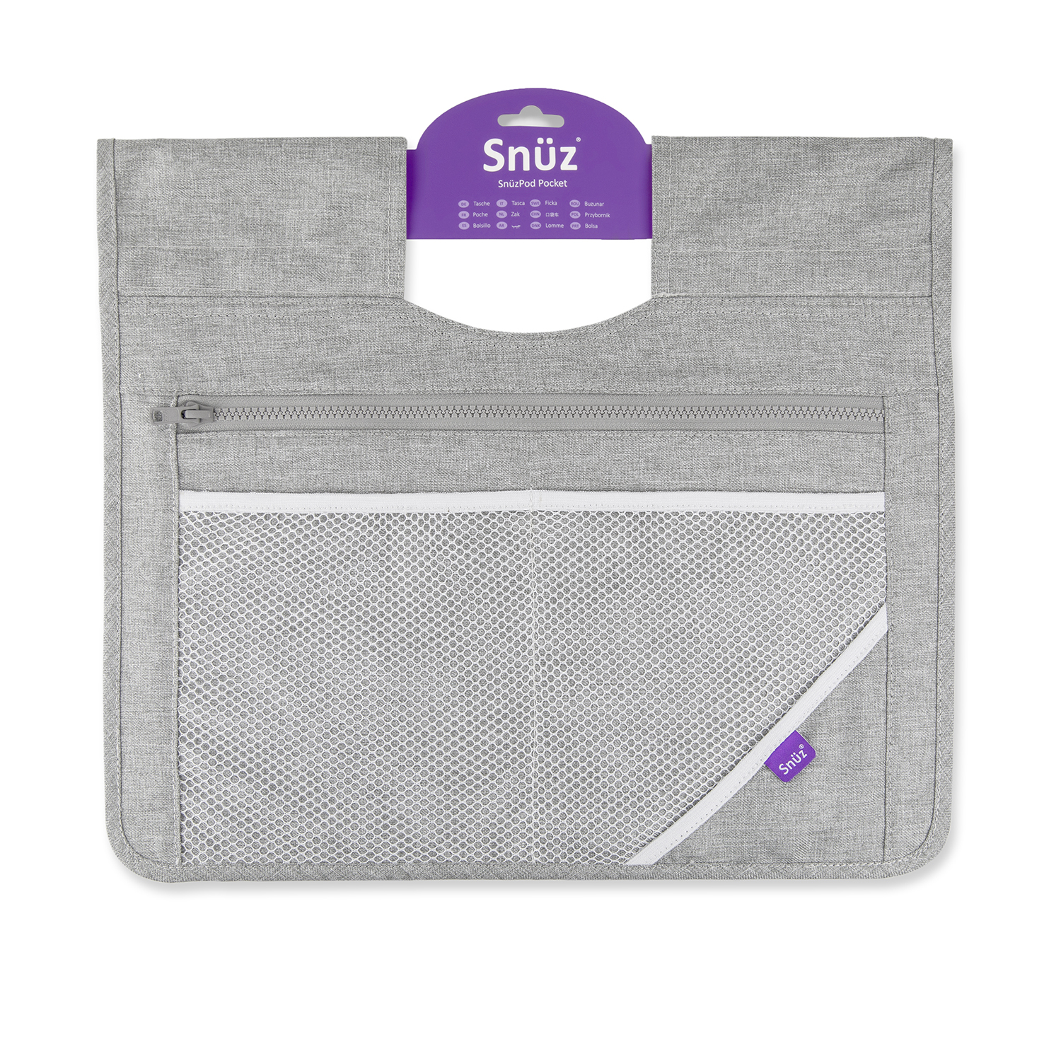 SnuzPod³ Storage Pocket - Dusk Grey