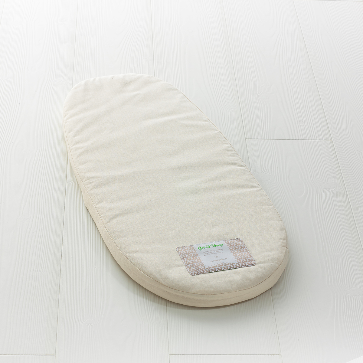 The Little Green Sheep - Natural Carrycot Mattress - To Fit Joolz Geo Only