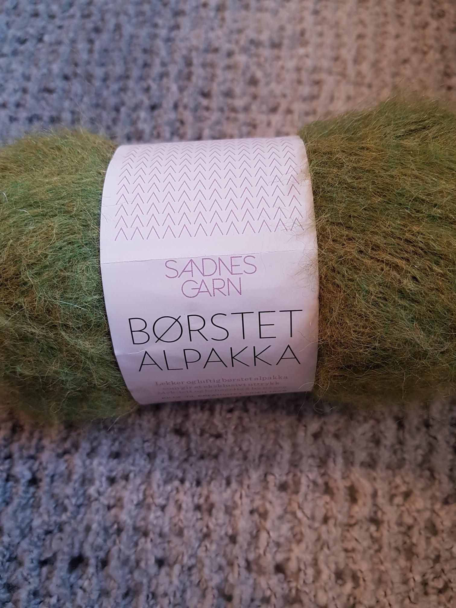Borstad Alpacka