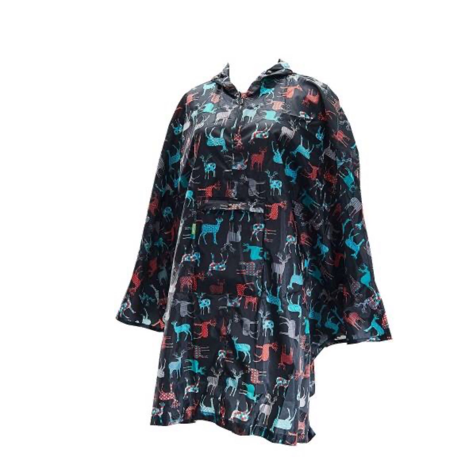 Stags Foldable Poncho