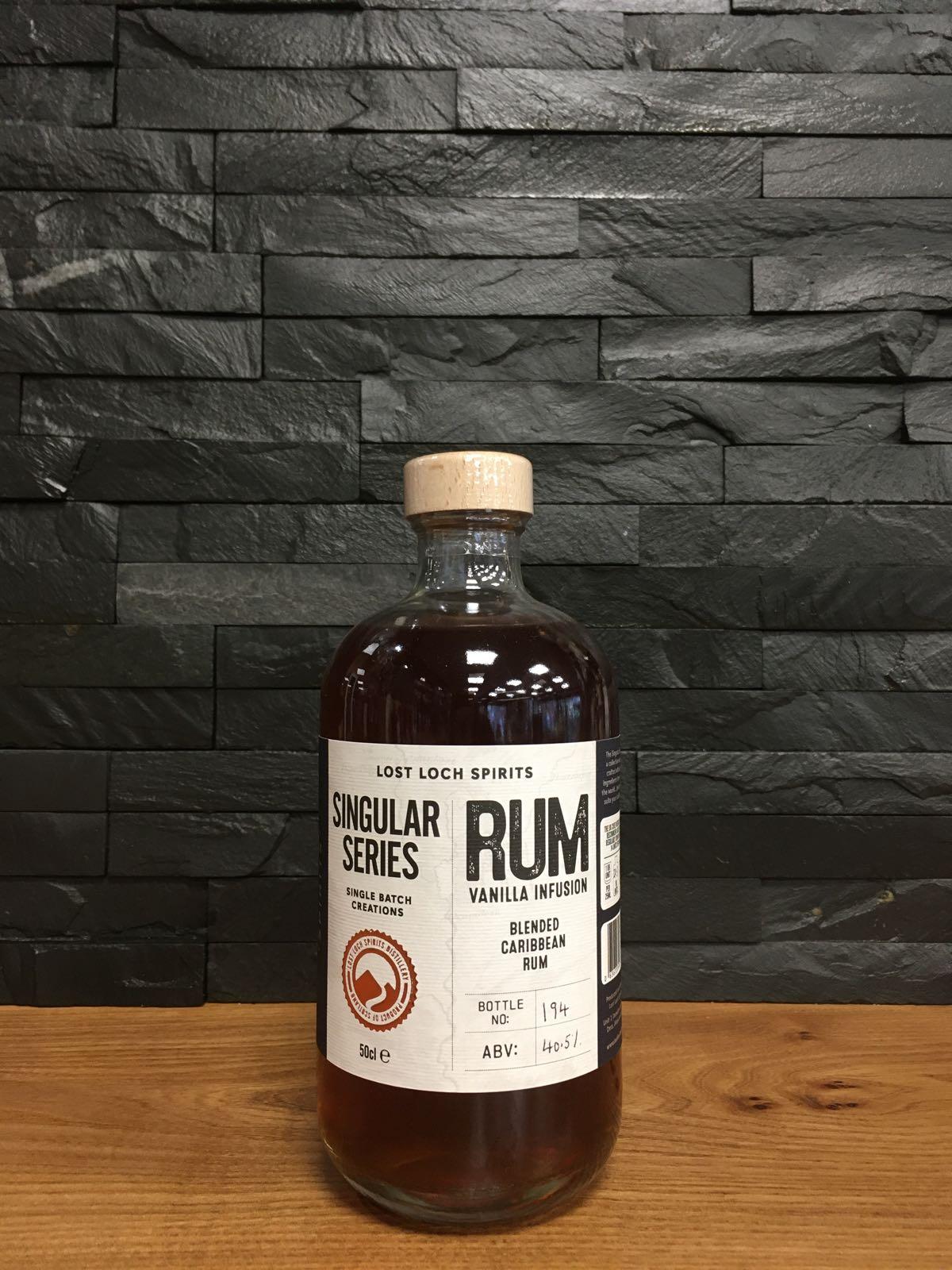 Lost Loch Singular Series Rum 50cl